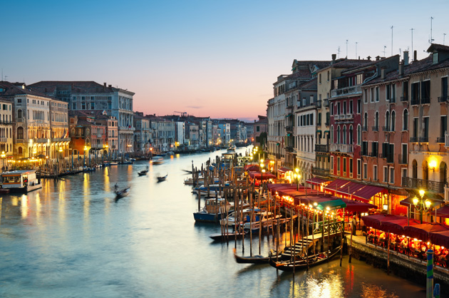 Venice-in-the-evening