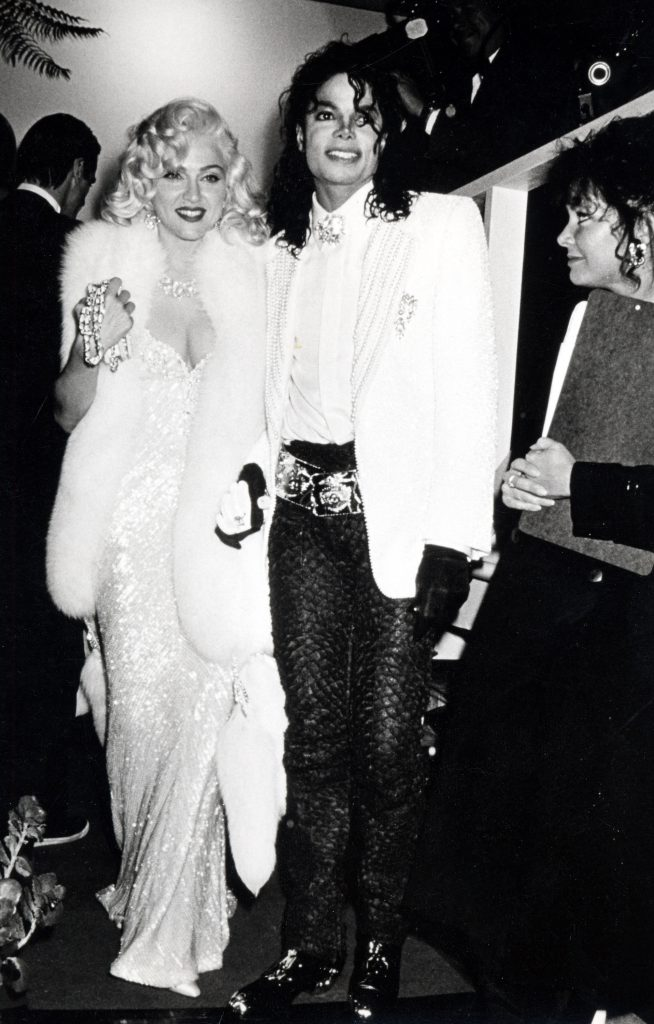 Madonna and Michael Jackson (Photo by Ron Galella/WireImage)