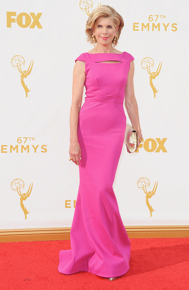 Actress arrives at the 67th Annual Primetime Emmy Awards at Microsoft Theater on September 20, 2015 in Los Angeles, California.
