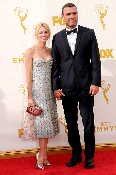 LOS ANGELES, CA - SEPTEMBER 20: (L-R) Actress Naomi Watts and actor Liev Schreiber arrive at the 67th Annual Primetime Emmy Awards at the Microsoft Theater on September 20, 2015 in Los Angeles, California. (Photo by Barry King/Getty Images)