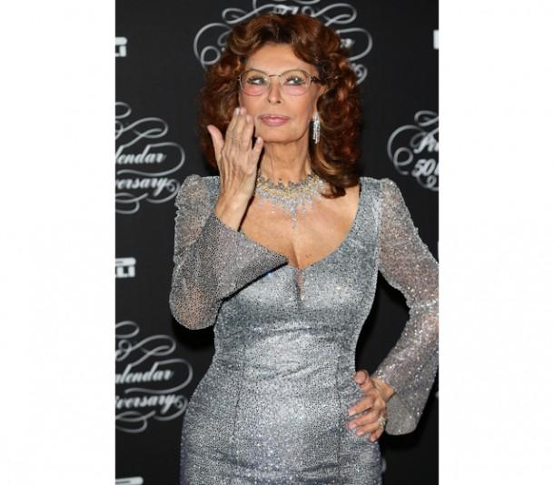 ... the Pirelli Calendar ... Sophia Loren 2013 Sophia Loren 2013 Calendar