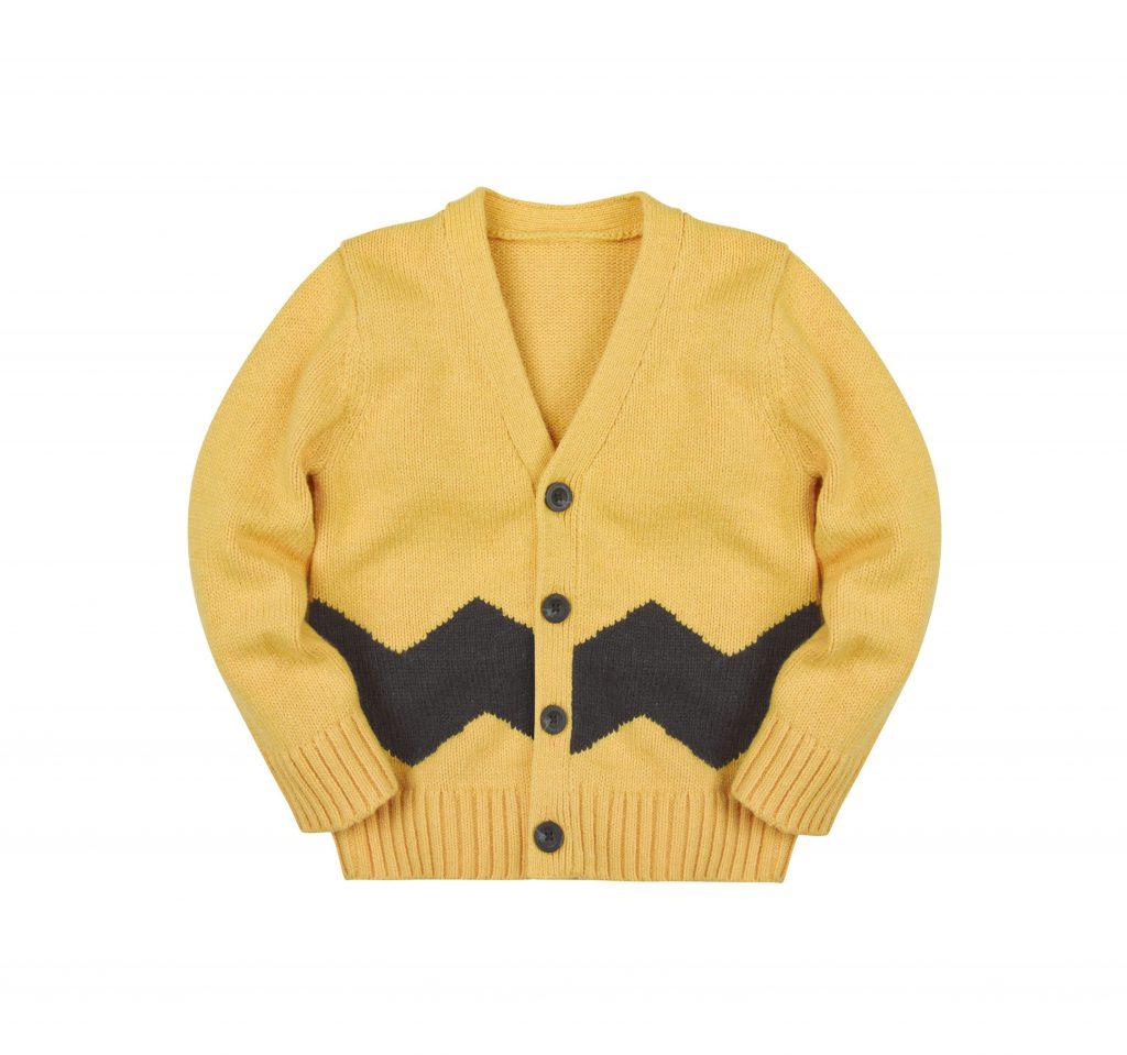116778, Yellow Charlie Brown Chevron Stripe Cardigan, -£24.95, 22 October