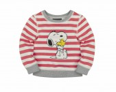 669407, Red and White Stripe Snoopy and Woodstock Jumper, -£19.95, 22 October