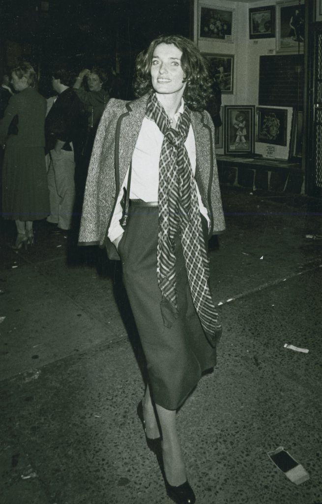 Margaret Trudeau sighted on October 3, 1978 at Studio 54 in New York City. (Photo by Ron Galella/WireImage)