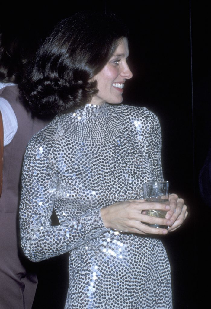 Margaret Trudeau on November 21, 1977 parties at Studio 54 in New York City. (Photo by Ron Galella/WireImage)