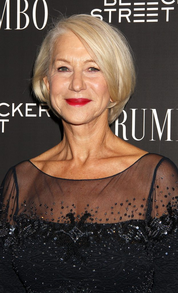 """NEW YORK, NY - NOVEMBER 03: Helen Mirren attends the """"Trumbo"""" New York premiere at MoMA Titus Two on November 3, 2015 in New York City. (Photo by Laura Cavanaugh/FilmMagic)"""