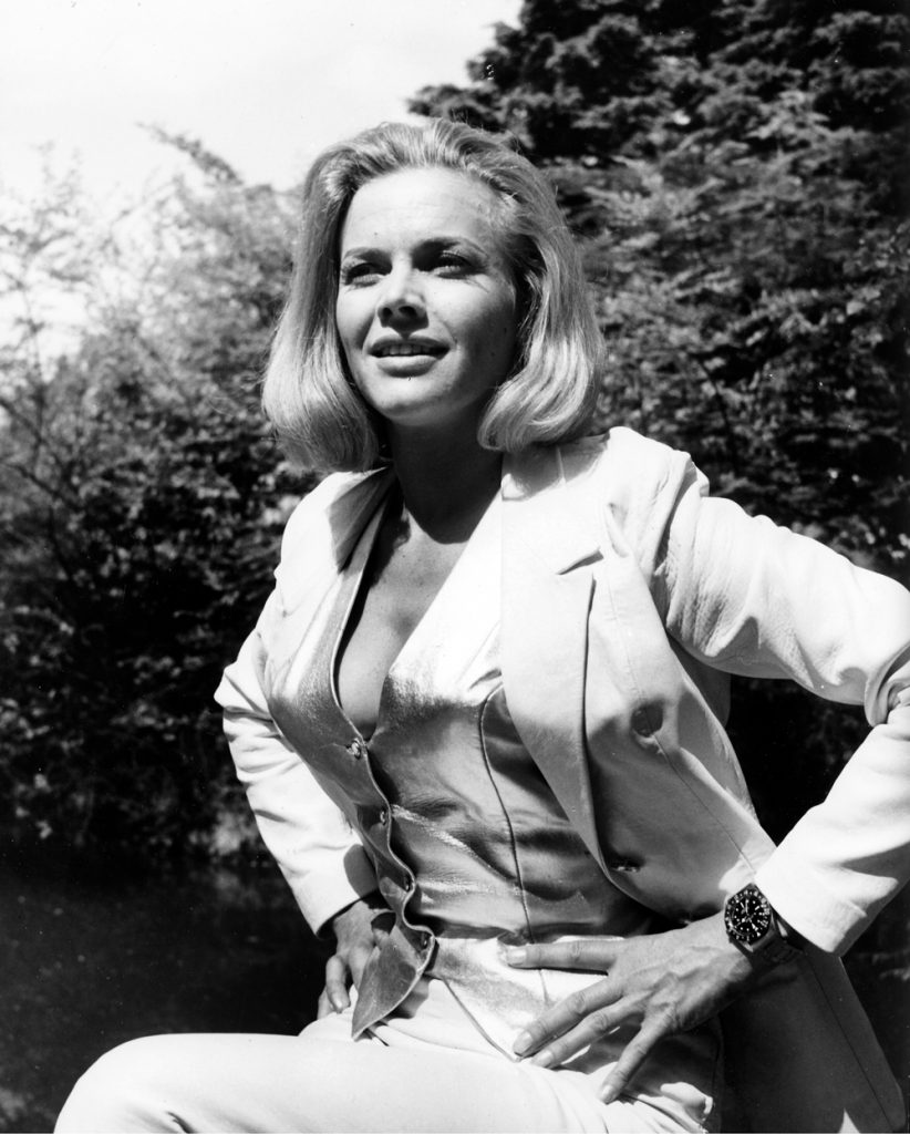 Goldfinger (1964) Directed by Guy Hamilton Shown: Honor Blackman