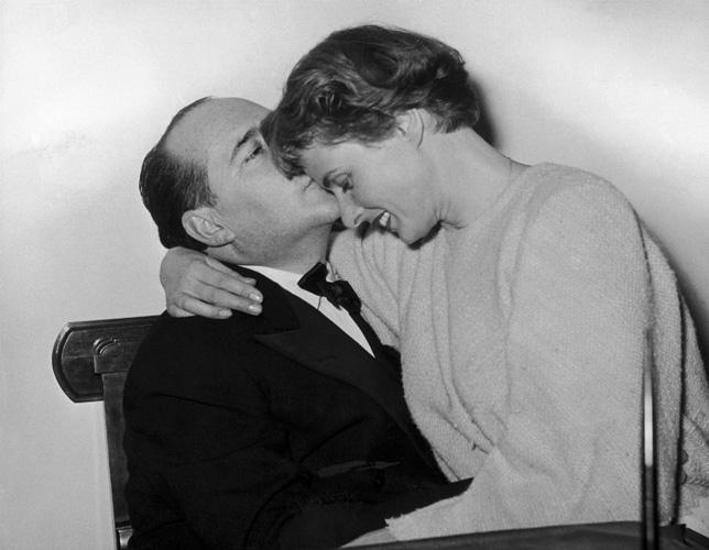 ROBERTO ROSSELLINI ET INGRID BERGMAN 1953