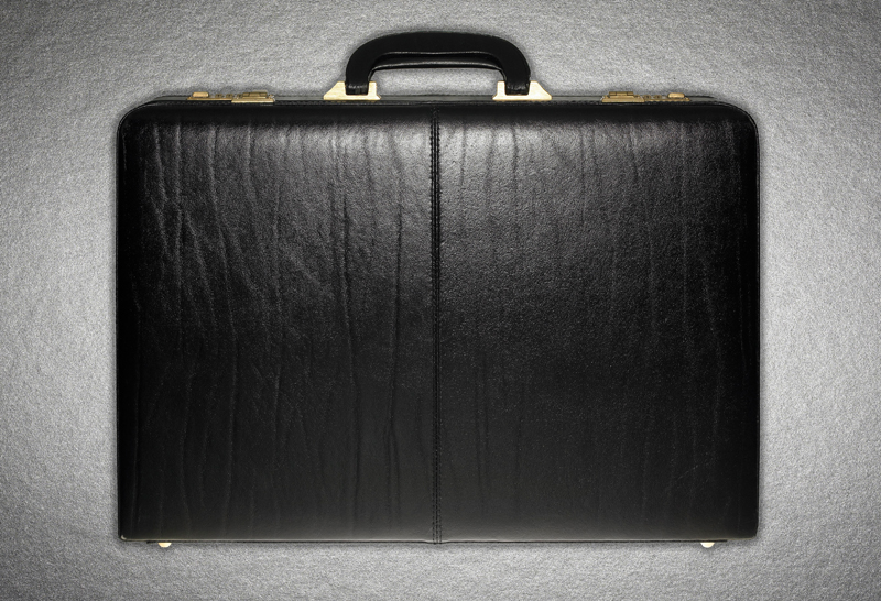 Leather briefcase --- Image by © 237/Adam Gault/Ocean/Corbis