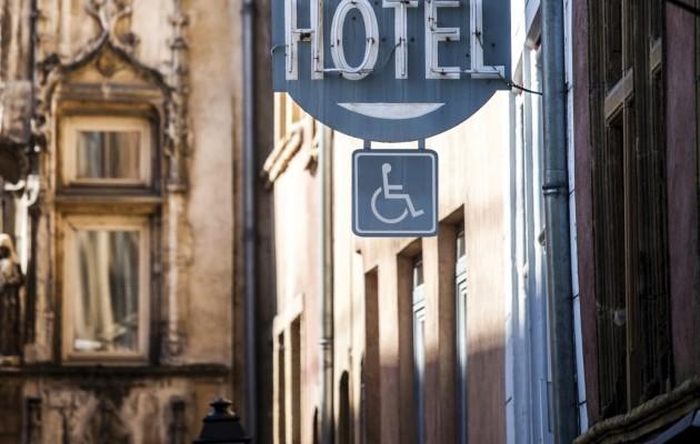 France, Rhone Alps region, Vieux Lyon, Old town buildings