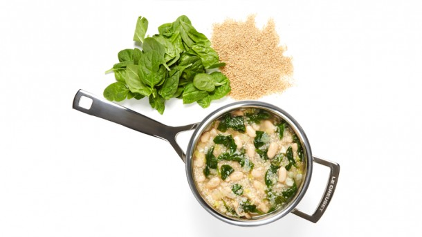 soup recipe yummly spinach and white bean soup today s post a ...