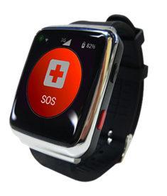 A Nurture Watch on SOS alert screen