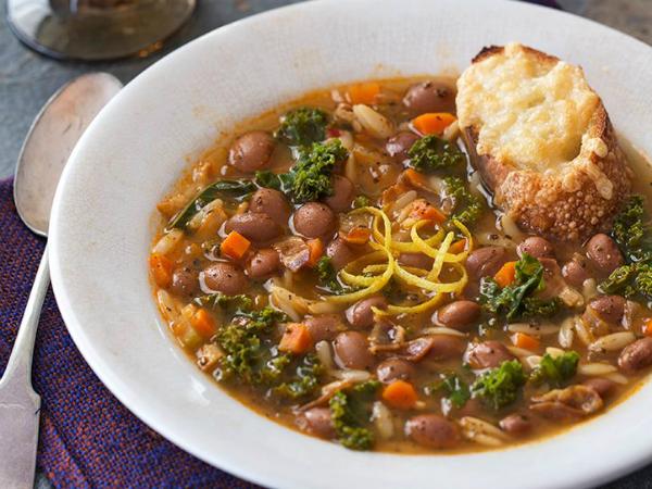 cranberry-bean-sage-orzo-soup
