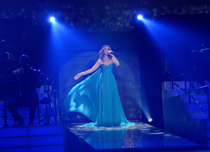 Celine Dion Premieres The Much-Anticipated Return Of Her Headline Residency Show At The Colosseum At Caesars Palace