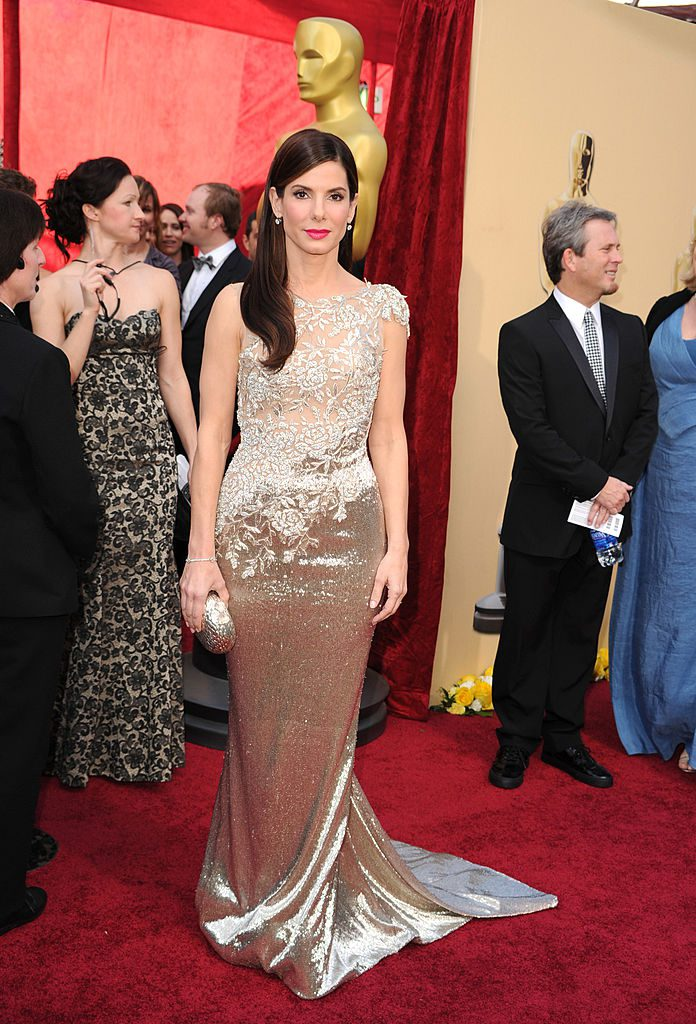 Sandra Bullock arrive at the 82nd Annual Academy Awards at the Kodak Theatre on March 7, 2010 in Hollywood, California. on March 7, 2010 in Hollywood, California. (Photo by Steve Granitz/WireImage)