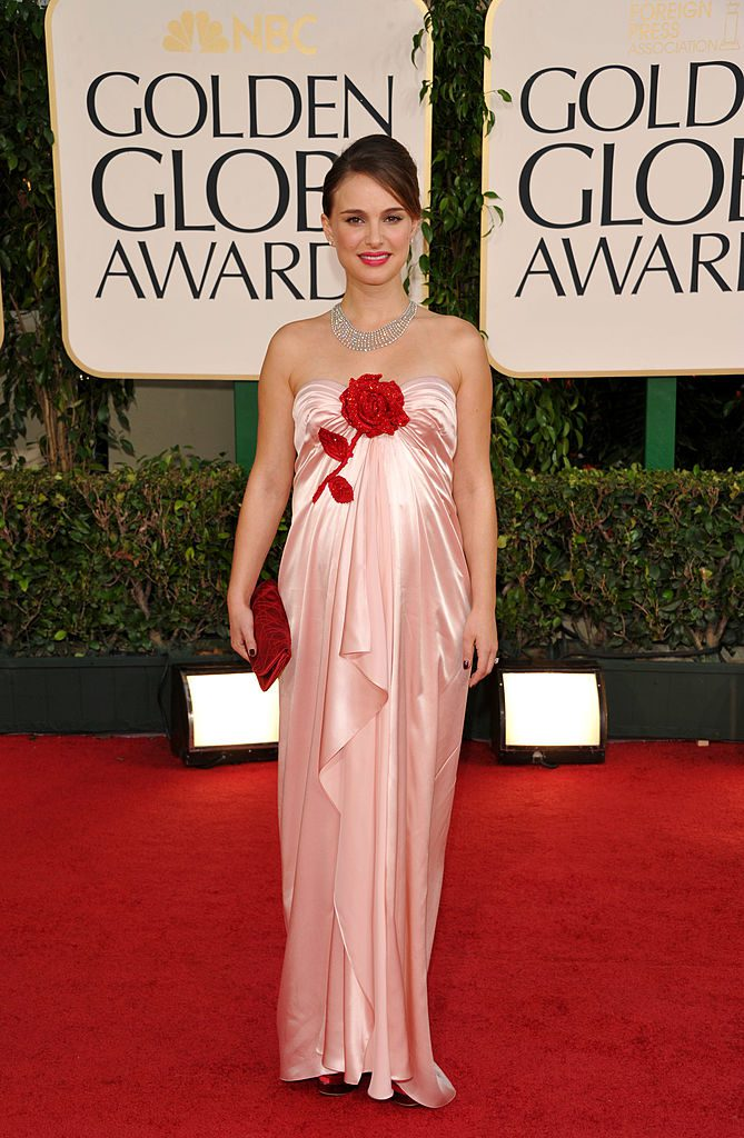 68th ANNUAL GOLDEN GLOBE AWARDS -- Pictured: Natalie Portman arrives at the 68th Annual Golden Globe Awards held at the Beverly Hilton Hotel on January 16, 2011 (Photo by Evan Agostini/NBC/NBCU Photo Bank via Getty Images)
