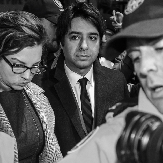 TORONTO, ON - JANUARY 8: Jian Ghomeshi leaves College Park Court after his appearance January 8, 2015. Ghomeshi is now facing three new charges of sexual assault related to three more women in addition to four previously laid charges of sexual assault and one charge of choking. (David Cooper/Toronto Star via Getty Images)
