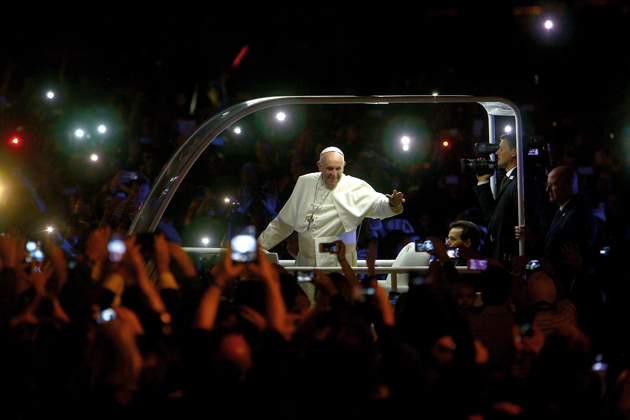 Pope Francis Visits The Festival Of Families