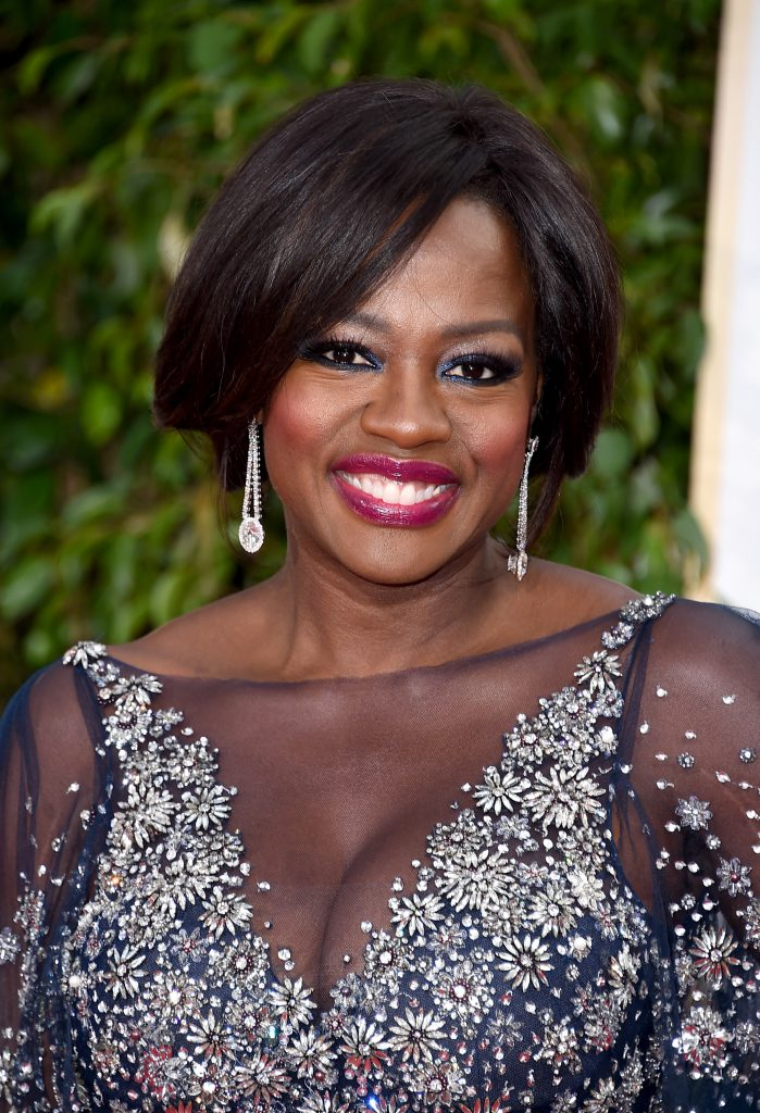 BEVERLY HILLS, CA - JANUARY 10: Actress Viola Davis attends the 73rd Annual Golden Globe Awards held at the Beverly Hilton Hotel on January 10, 2016 in Beverly Hills, California. (Photo by Steve Granitz/WireImage)