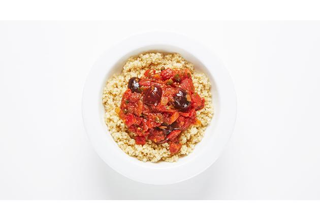 quinoa-puttanesca