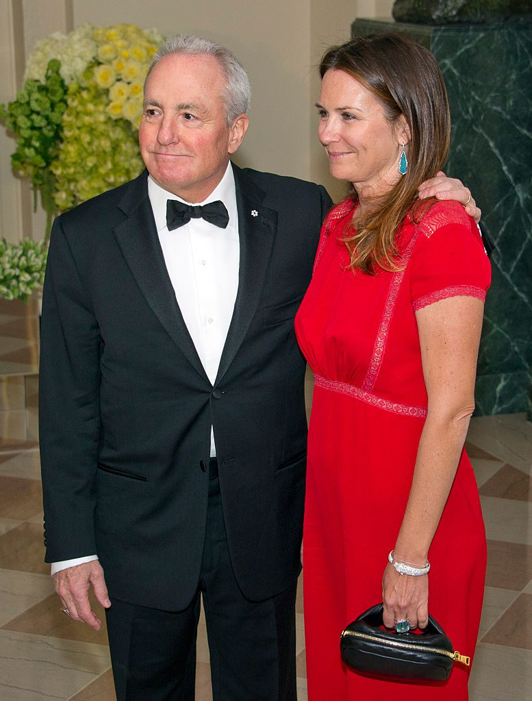 WASHINGTON, DC - MARCH 10: Lorne Michaels, Executive Producer, Saturday Night Live, and Alice Michaels arrive for the State Dinner in honor of Prime Minister Trudeau and Mrs. Sophie Trudeau of Canada at the White House March 10, 2016 in Washington, DC. Hosted by President and First Lady Obama, the dinner is in honor of Prime Minister Justin Trudeau and Sophie Gregoire Trudeau of Canada. (Photo by Ron Sachs-Pool/Getty Images)