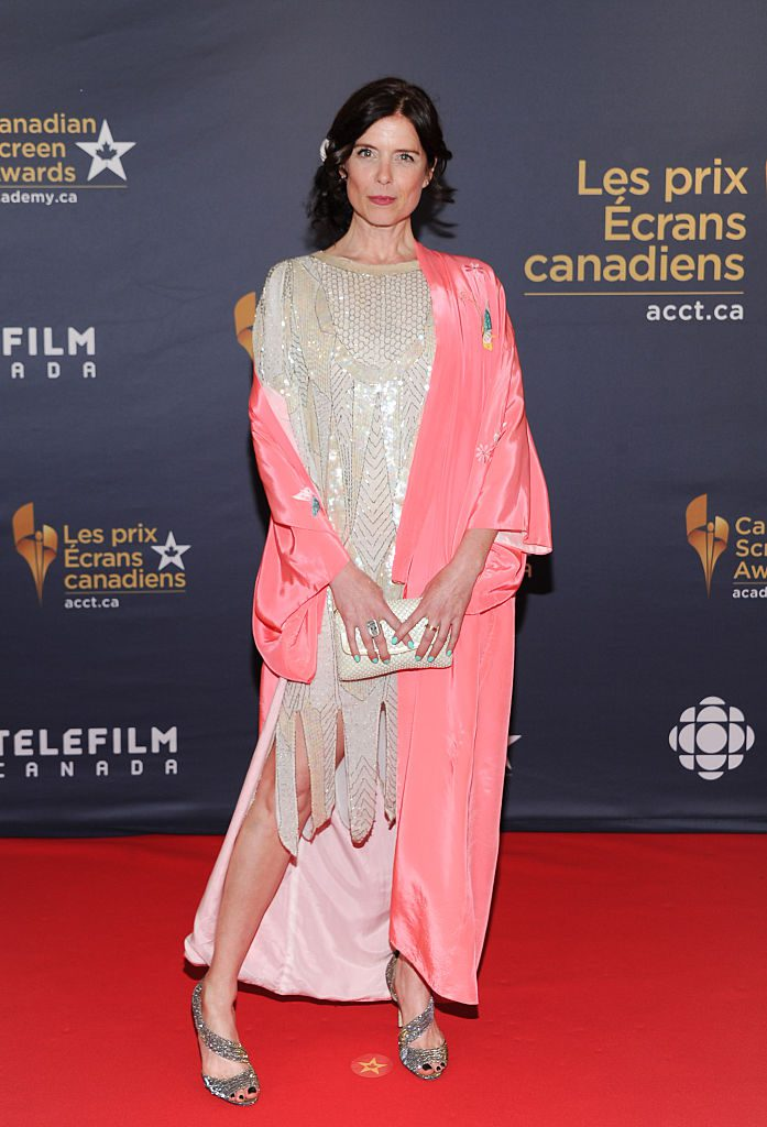 TORONTO, ON - MARCH 13: Torri Higginson arrives at the 2016 Canadian Screen Awards at the Sony Centre for the Performing Arts on March 13, 2016 in Toronto, Canada. (Photo by George Pimentel/WireImage)