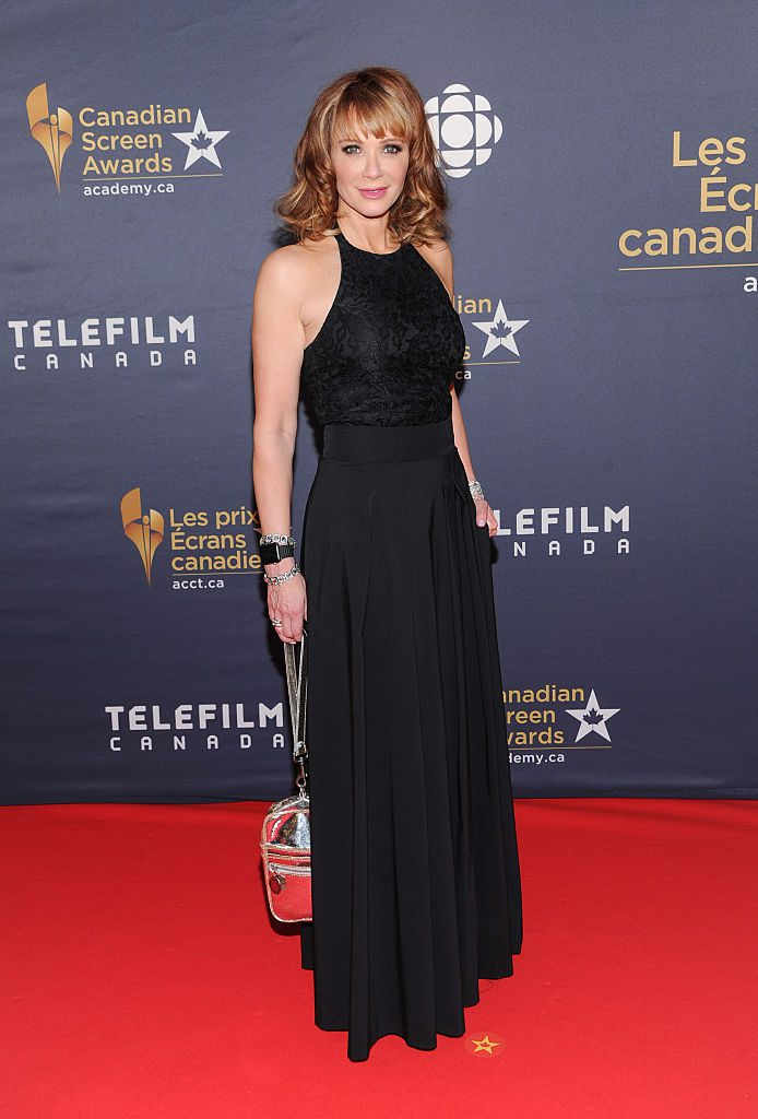 TORONTO, ON - MARCH 13: Lauren Holly arrives at the 2016 Canadian Screen Awards at the Sony Centre for the Performing Arts on March 13, 2016 in Toronto, Canada. (Photo by George Pimentel/WireImage)