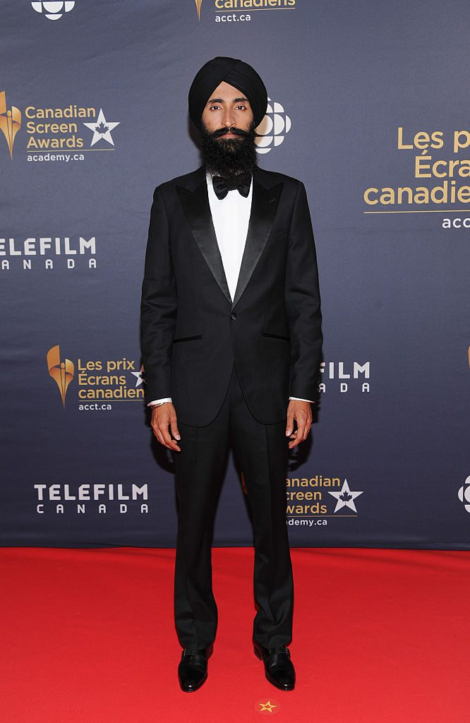 TORONTO, ON - MARCH 13: Waris Ahluwalia arrives at the 2016 Canadian Screen Awards at the Sony Centre for the Performing Arts on March 13, 2016 in Toronto, Canada. (Photo by George Pimentel/WireImage)