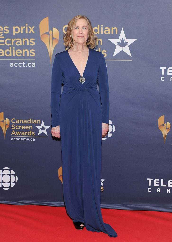 TORONTO, ON - MARCH 13: Actress Catherine O'Hara arrives at the 2016 Canadian Screen Awards at the Sony Centre for the Performing Arts on March 13, 2016 in Toronto, Canada. (Photo by George Pimentel/WireImage)