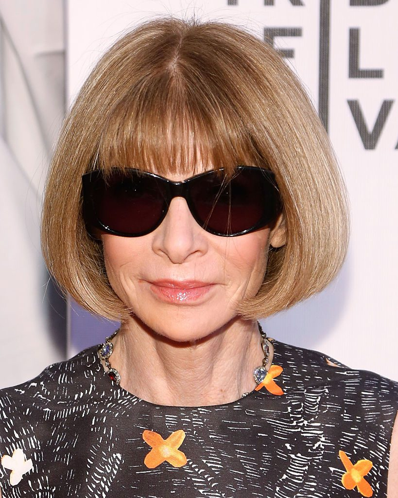 "NEW YORK, NY - APRIL 13: Conde Nast Artistic Director Anna Wintour attends the world premiere of ""First Monday in May"" during the 2016 Tribeca Film Festival at John Zuccotti Theater at BMCC Tribeca Performing Arts Center on April 13, 2016 in New York City. (Photo by Taylor Hill/Getty Images)"