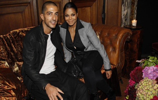 PARIS - OCTOBER 03: Wissam Al Mana and Janet Jackson attend the John Galliano Ready to Wear Spring/Summer 2011 show during Paris Fashion Week at Opera Comique on October 3, 2010 in Paris, France. (Photo by Michel Dufour/WireImage)