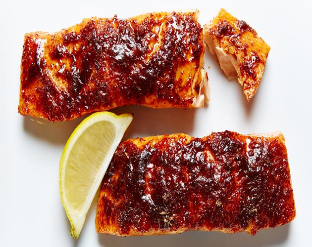 citrus-salmon