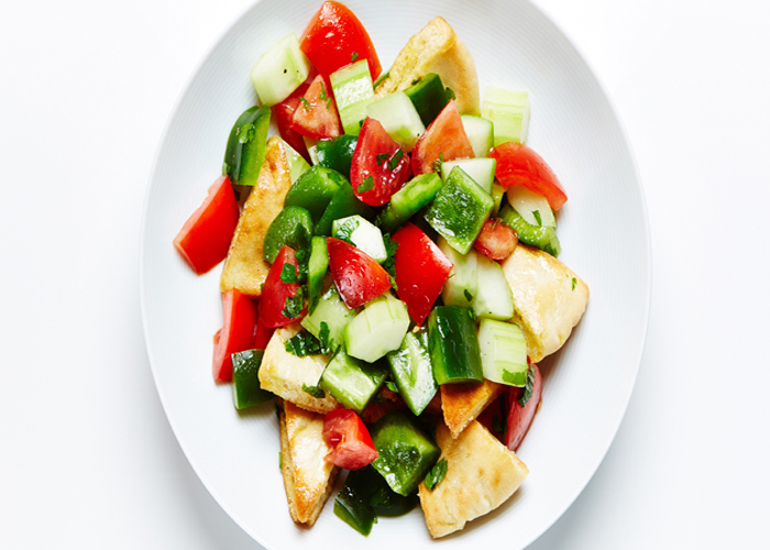 tomato-pita-salad