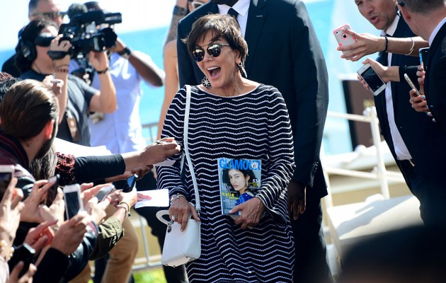 CANNES, FRANCE - MAY 12:  Kris Jenner is seen during the annual 69th Cannes Film Festival at  on May 12, 2016 in Cannes, France.  (Photo by Anthony Ghnassia/GC Images)