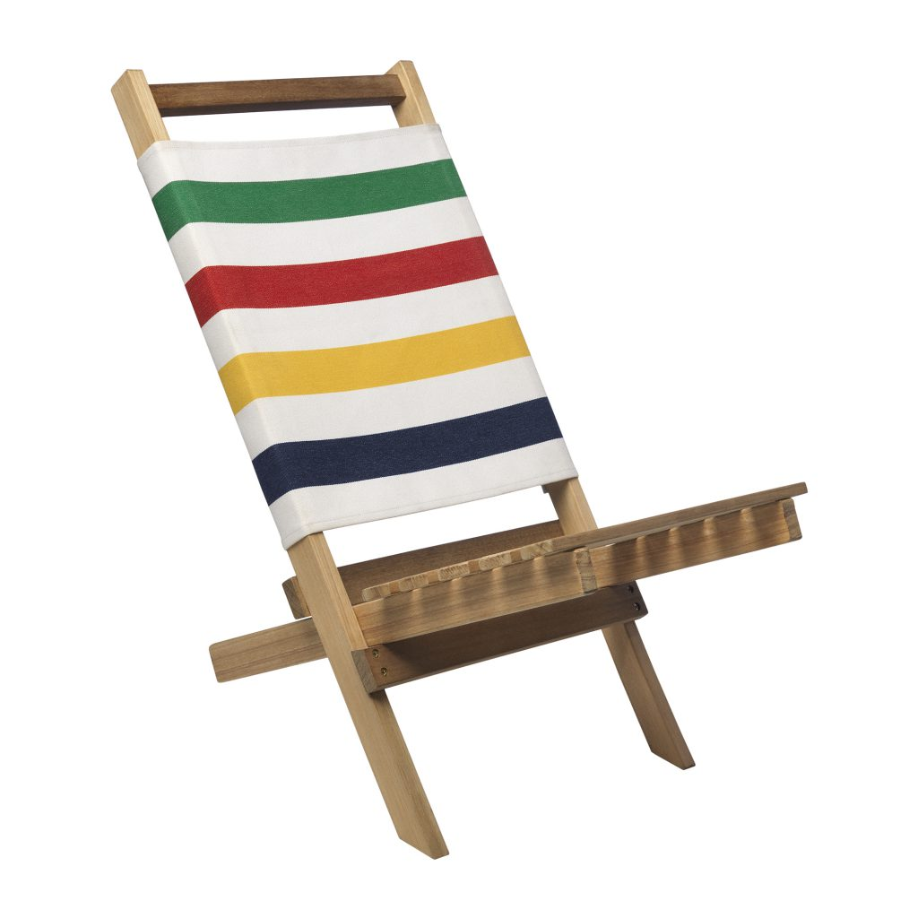 Celebrate canada day with classic hudson s bay stripes for Chair network golf