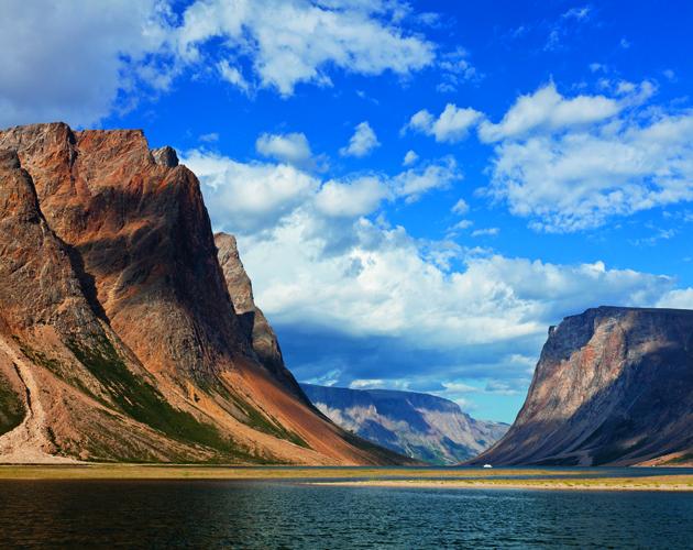 South West Arm of Saglek Bay, Torngat Mountains National Park, Labrador, Canada