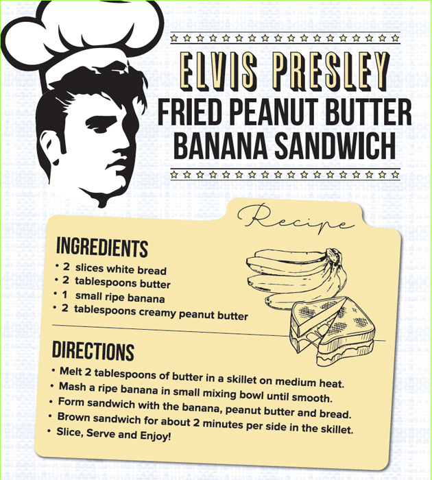 Elvis Eats The King S Fried Peanut Butter Banana Sandwich Recreated Everything Zoomer