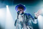 """TORONTO, ON - AUGUST 10:  Musician Gordon Downie of The Tragically Hip performs on stage during """"Man Machine Poem"""" tour at the Air Canada Center on August 10, 2016 in Toronto, Canada.  (Photo by GP Images/WireImage)"""