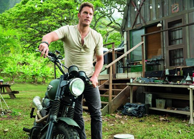 JURASSIC WORLD, Chris Pratt, 2015. ph: Chuck Zlotnick/�Universal Pictures/courtesy Everett Collection