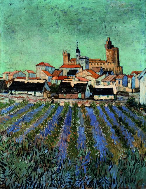 Saintes Maries de la Mer, by Vincent van Gogh (1853-1890).