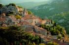 Small village of Les Baux de Provence, France.