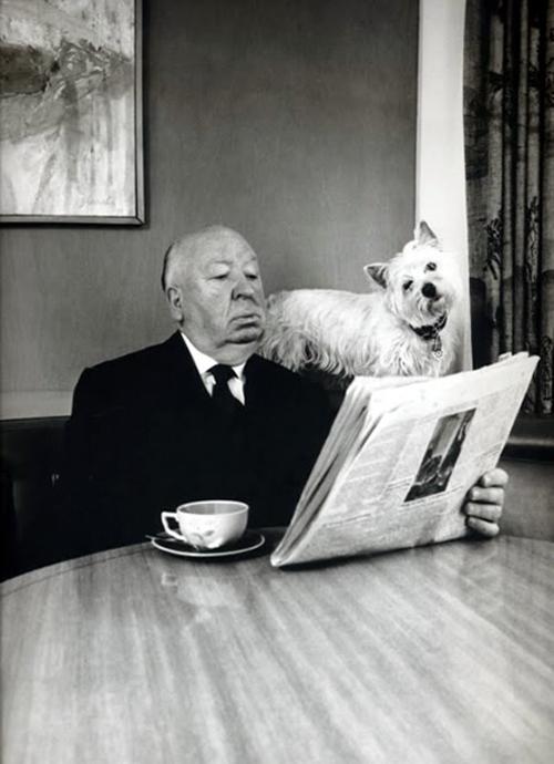 i_Hitchcock and his dog