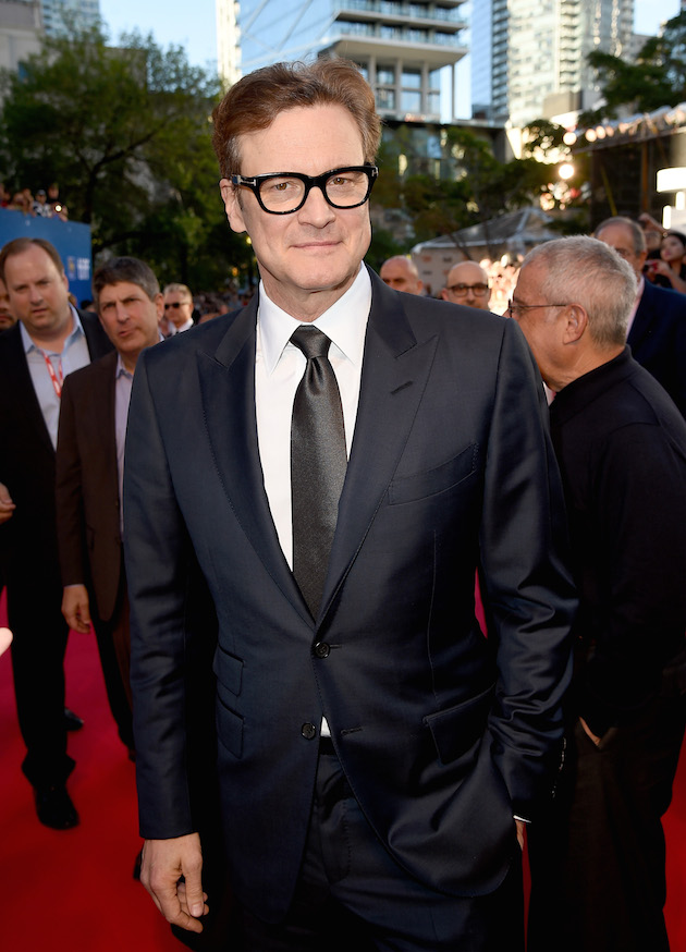"TORONTO, ON - SEPTEMBER 11: Producer Colin Firth attends the ""Loving"" premiere during the 2016 Toronto International Film Festival at Roy Thomson Hall on September 11, 2016 in Toronto, Canada. (Photo by Kevin Winter/Getty Images)"