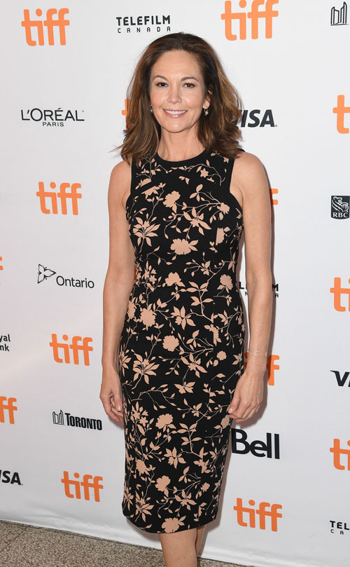 TORONTO, ON - SEPTEMBER 12: Actress Diane Lane arrives at the 2016 Toronto International Film Festival Premiere of 'Paris Can Wait' at the Winter Garden Theatre on September 12, 2016 in Toronto, Canada (Photo by C Flanigan/FilmMagic)