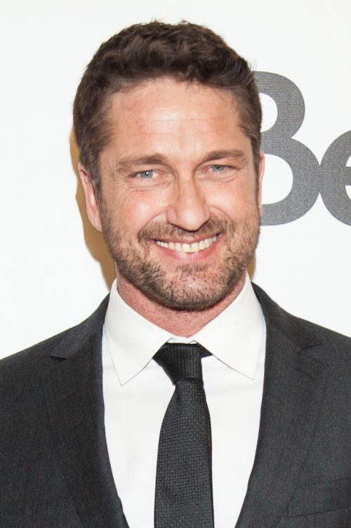 """TORONTO, ON - SEPTEMBER 14: Actor Gerard Butler attends the premier of """"The Headhunter's Calling"""" at Roy Thomson Hall on September 14, 2016 in Toronto, Canada. (Photo by Che Rosales/WireImage)"""