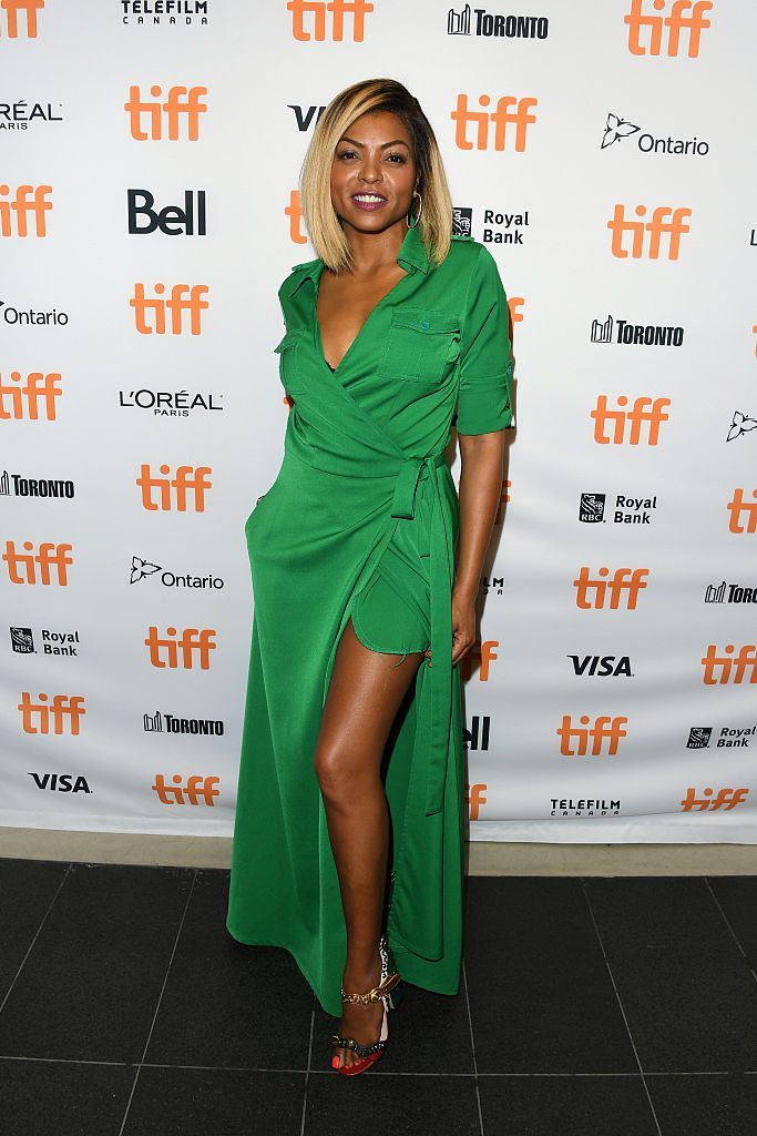 "attends the ""Hidden Figures"" premiere during the 2016 Toronto International Film Festival at TIFF Bell Lightbox on September 10, 2016 in Toronto, Canada."