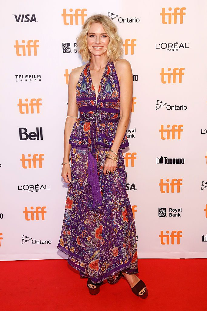 TORONTO, ON - SEPTEMBER 10: Actress Naomi Watts attends the premiere of 'The Bleeder' during the 2016 Toronto International Film Festival at Princess of Wales Theatre on September 10, 2016 in Toronto, Canada. (Photo by Taylor Hill/FilmMagic)
