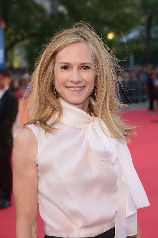 TORONTO, ON - SEPTEMBER 16: Actress Holly Hunter attends the 'Strange Weather' Premiere during the 2016 Toronto International Film Festival at Roy Thomson Hall on September 16, 2016 in Toronto, Canada. (Photo by GP Images/WireImage)