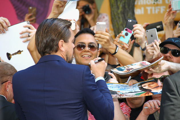 """TORONTO, ON - SEPTEMBER 09: Actor Leonardo DiCaprio attends the """"Before The Flood"""" premiere held at Princess of Wales Theatre during the Toronto International Film Festival on September 9, 2016 in Toronto, Canada. (Photo by Jeremychanphotography/WireImage)"""