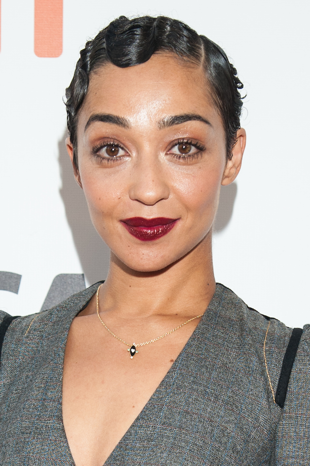 "TORONTO, ON - SEPTEMBER 11: Actress Ruth Negga attends the premiere of ""Loving"" during the 2016 Toronto International Film Festival at Roy Thomson Hall on September 11, 2016 in Toronto, Canada. (Photo by Che Rosales/Getty Images)"